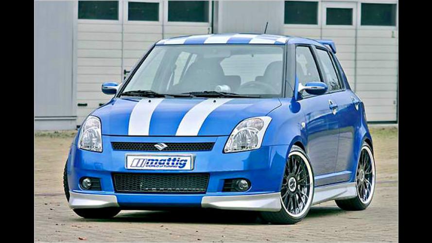 Mattig macht den Suzuki Swift zur kleinen Rennsemmel