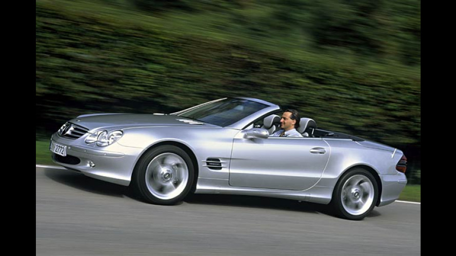 Edel-Benz: Sondermodell zum 50-jährigen Jubiläum des SL