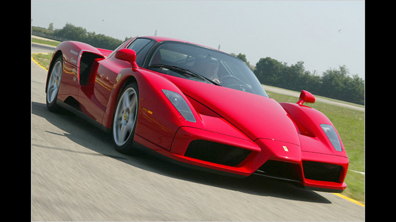 Ferrari Enzo und Maserati MC12