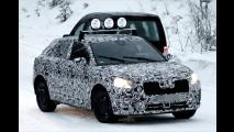 Künftiges Kompakt-SUV im Schnee