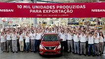 Nissan - exportação