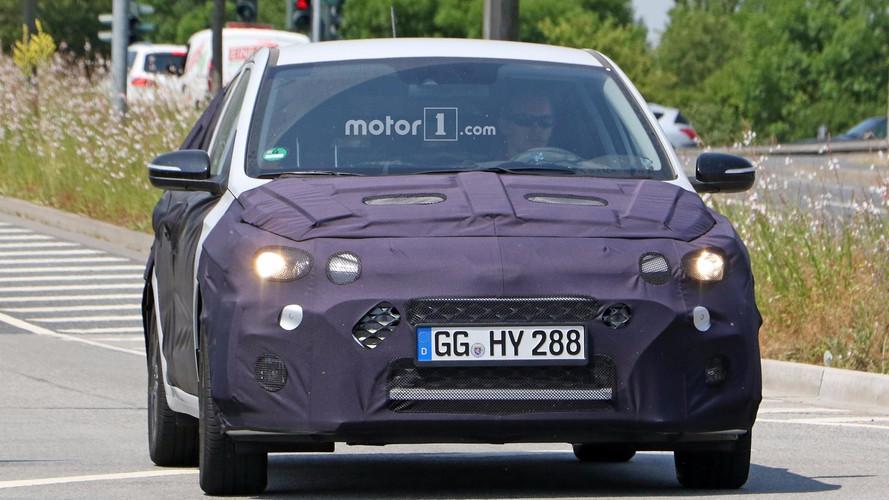 2018 Hyundai i20 restylée photos espion