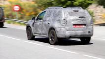 2018 Dacia Duster screenshot from spy video