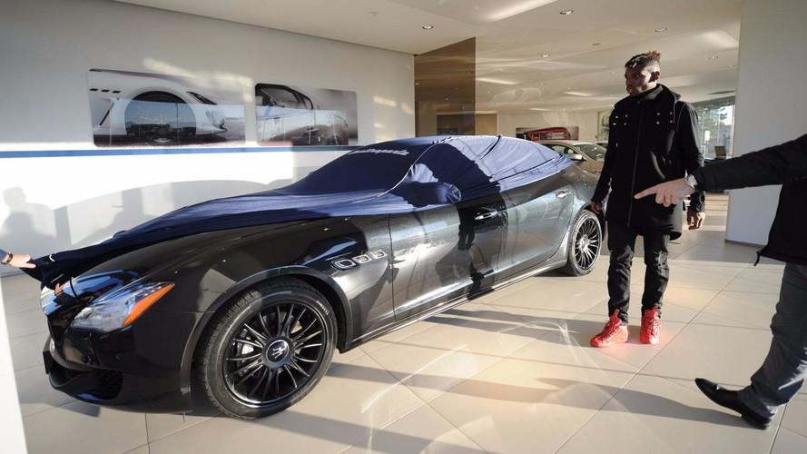 Les footballeurs fran ais et leurs voitures - Comptoir de la voiture de collection ...