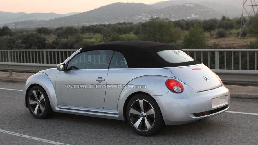 2013 Volkswagen Beetle Cabrio spied