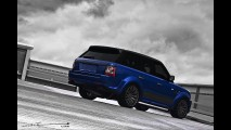 A. Kahn Design Range Rover Imperial Blue Cosworth