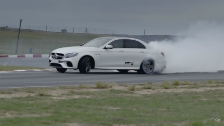 Drift Battle: BMW M5 Vs. Mercedes-AMG E63 S
