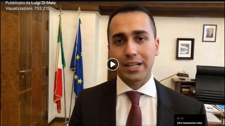 Luigi Di Maio benedice il Piano FCA pro auto elettrica e anti diesel
