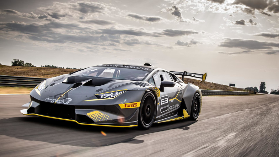 Lamborghini Reveals Huracan Super Trofeo Evo Race Car