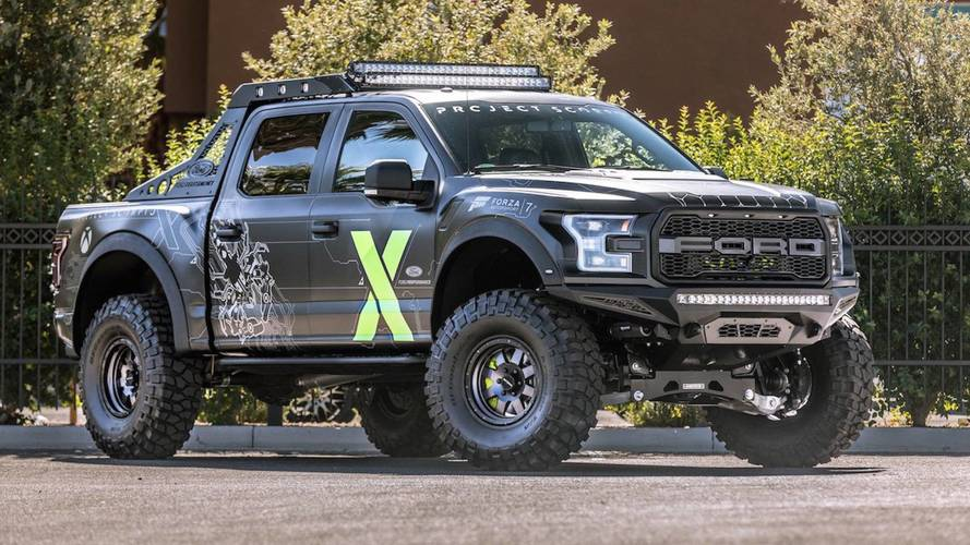 ford f 150 raptor xbox one x edition du sema forza. Black Bedroom Furniture Sets. Home Design Ideas
