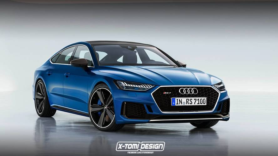 Így mutat majd a 700 lóerős teljesítményt kínáló Audi RS7 Sportback?