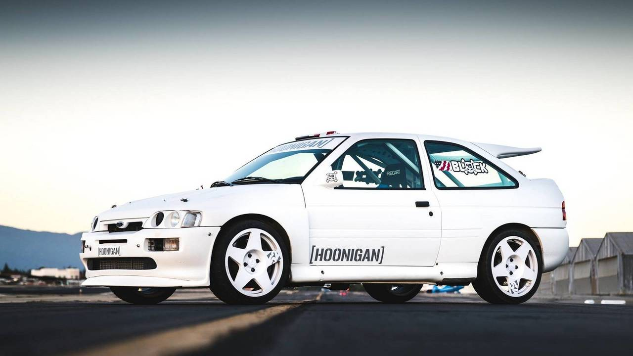 Ford Escort Rs Cosworth Rally Car Is Ken Block S New Wrc Toy