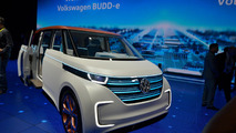 VW Budd-e concept at CES 2016