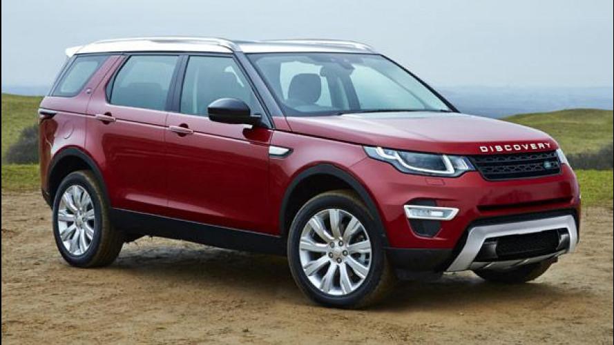 Land Rover Discovery, la rivoluzione arriva nel 2017