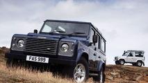 Upgraded Land Rover Defender for 2007