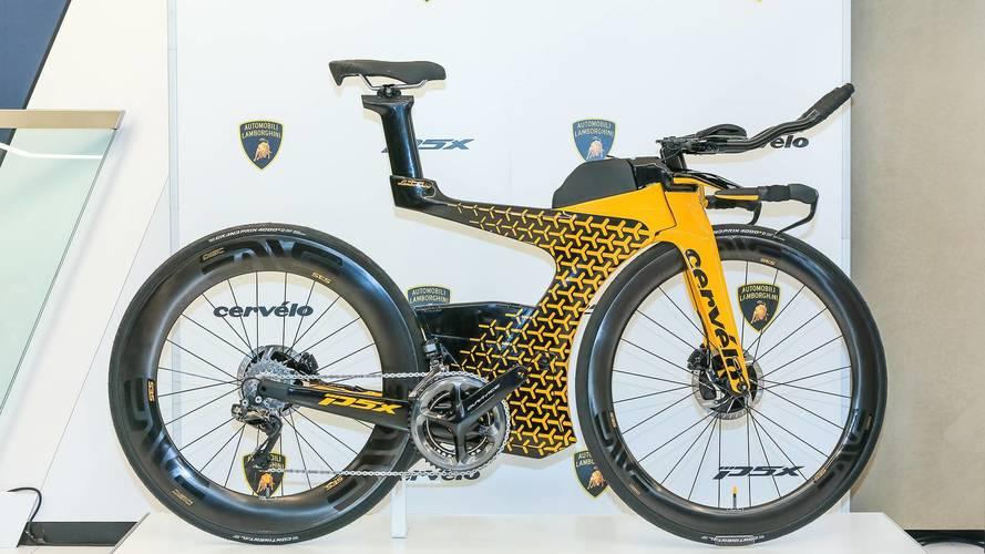 Lamborghini ve Cervelo'dan ortak bir triatlon bisikleti