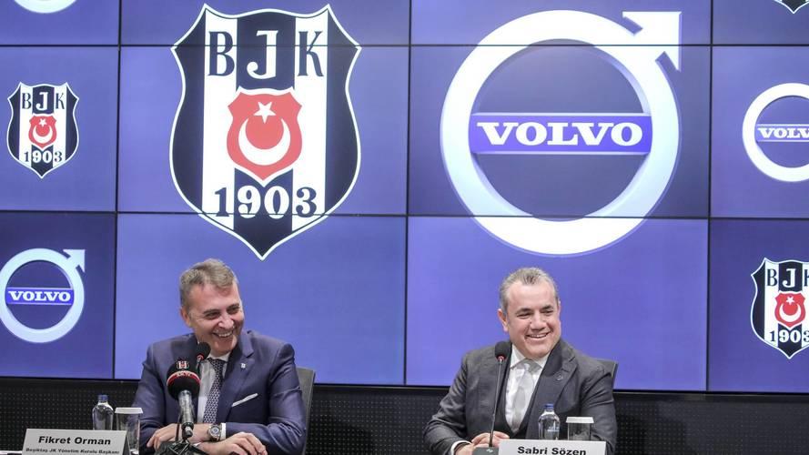 Volvo Car Turkey ve Beşiktaş partner oldu