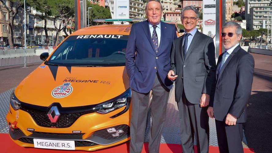 Livraison Mégane R.S. à l'Automobile Club de Monaco