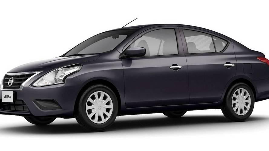 Nissan Versa é o sedã automático mais barato da Argentina