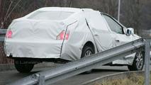 More Renault Laguna Sedan Spy Pics