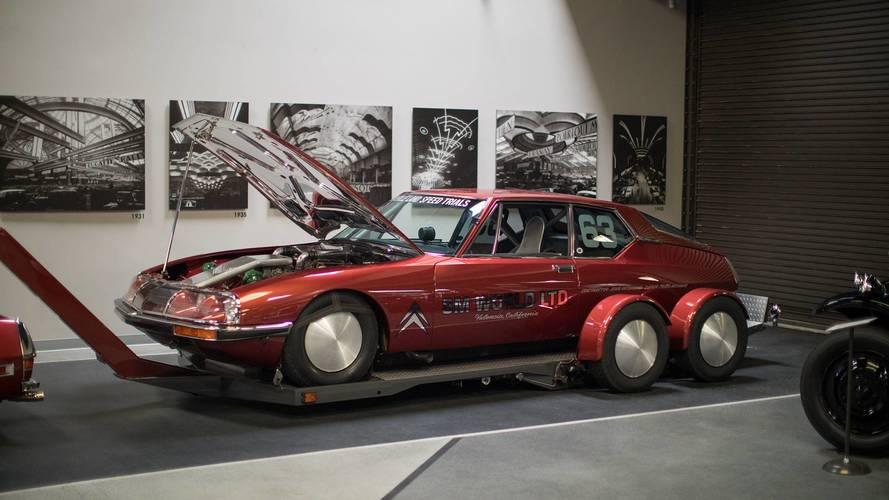 La plus rapide des Citroën SM prend la pose aux États-Unis