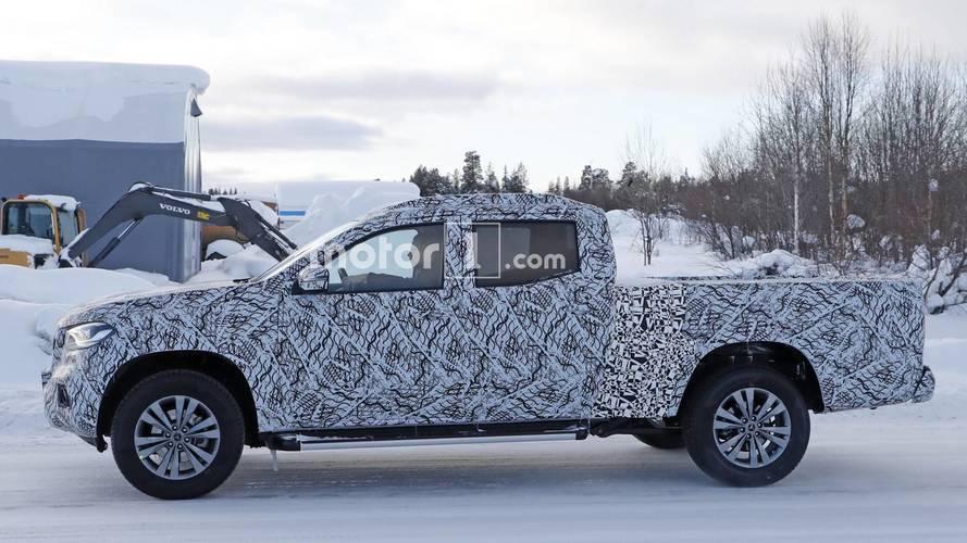 Mercedes X-Serisi, daha geniş yük yatağıyla görüldü