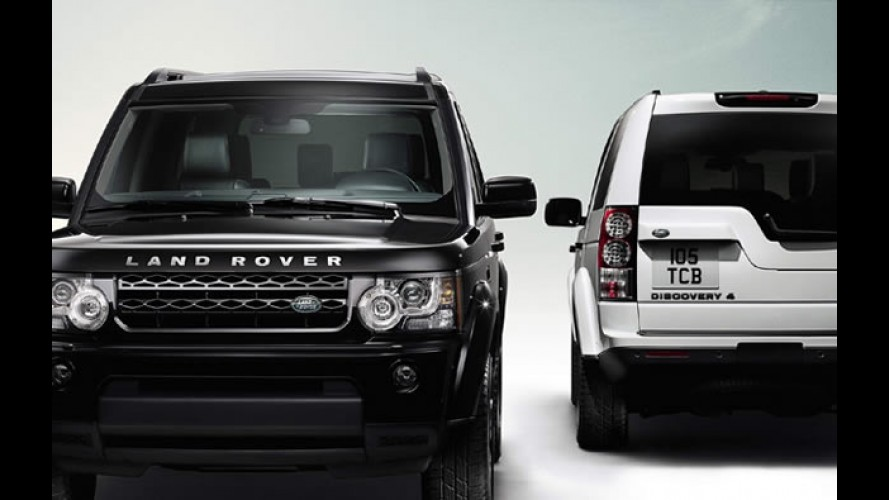 Discovery 4 Black and White Edition chega ao Brasil por R$ 239.900