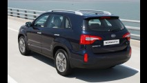 Kia divulga primeiros detalhes oficiais da versão europeia do renovado Sorento 2013