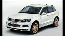 VW Touareg Gold Edition traz ouro 24 quilates por todos os lados
