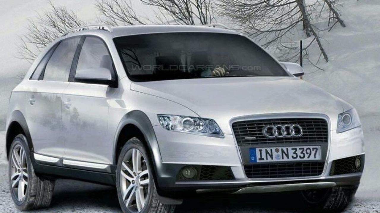 Audi Q5 Spy Illustrations
