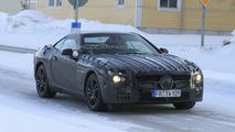 Mercedes SL Prototype on Arctic Circle