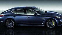 Panamera with Sport Design package and 20-inch Panamera Sport wheels painted in exterior colour
