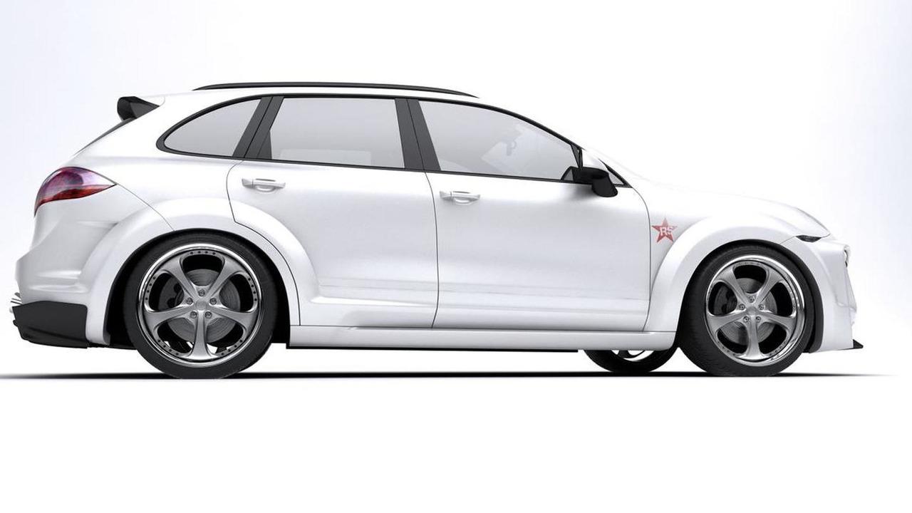 Porsche Cayenne Radical Star by Met-R - 12.10.2010