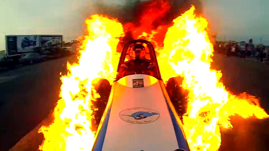 This Award-Winning Video of a Flaming Burnout is Insane