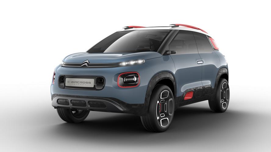 Citroën C-Aircross Concept, el C4 Cactus en formato SUV