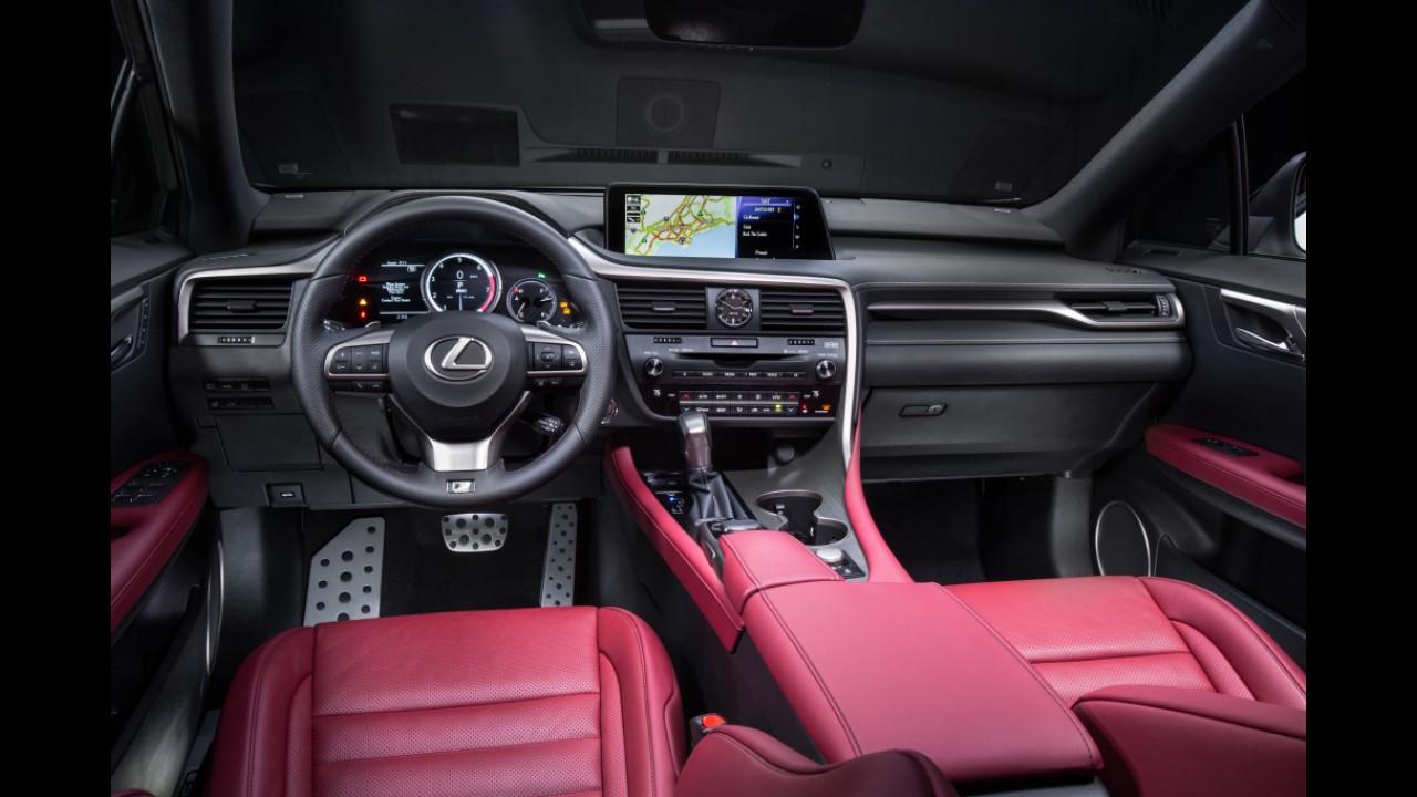 Novo Lexus RX 350 chega ao Brasil em duas versões com preço inicial de R$ 337.350