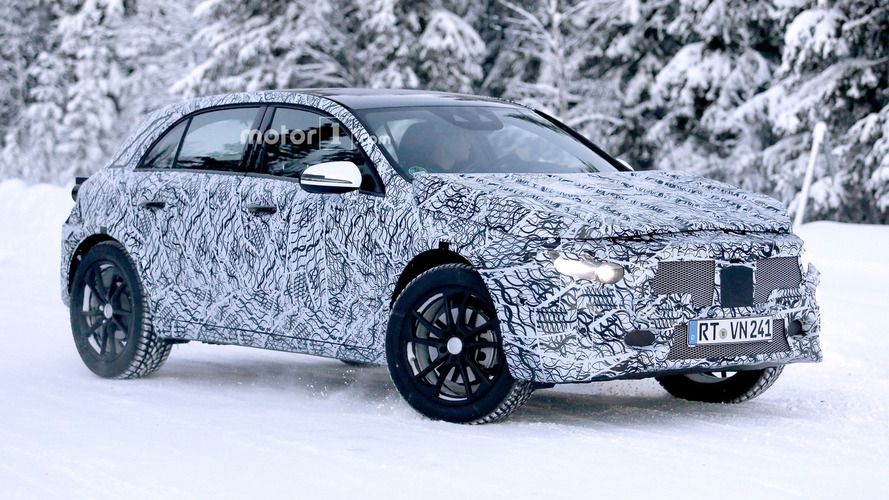 2020 Mercedes GLA spied for the first time