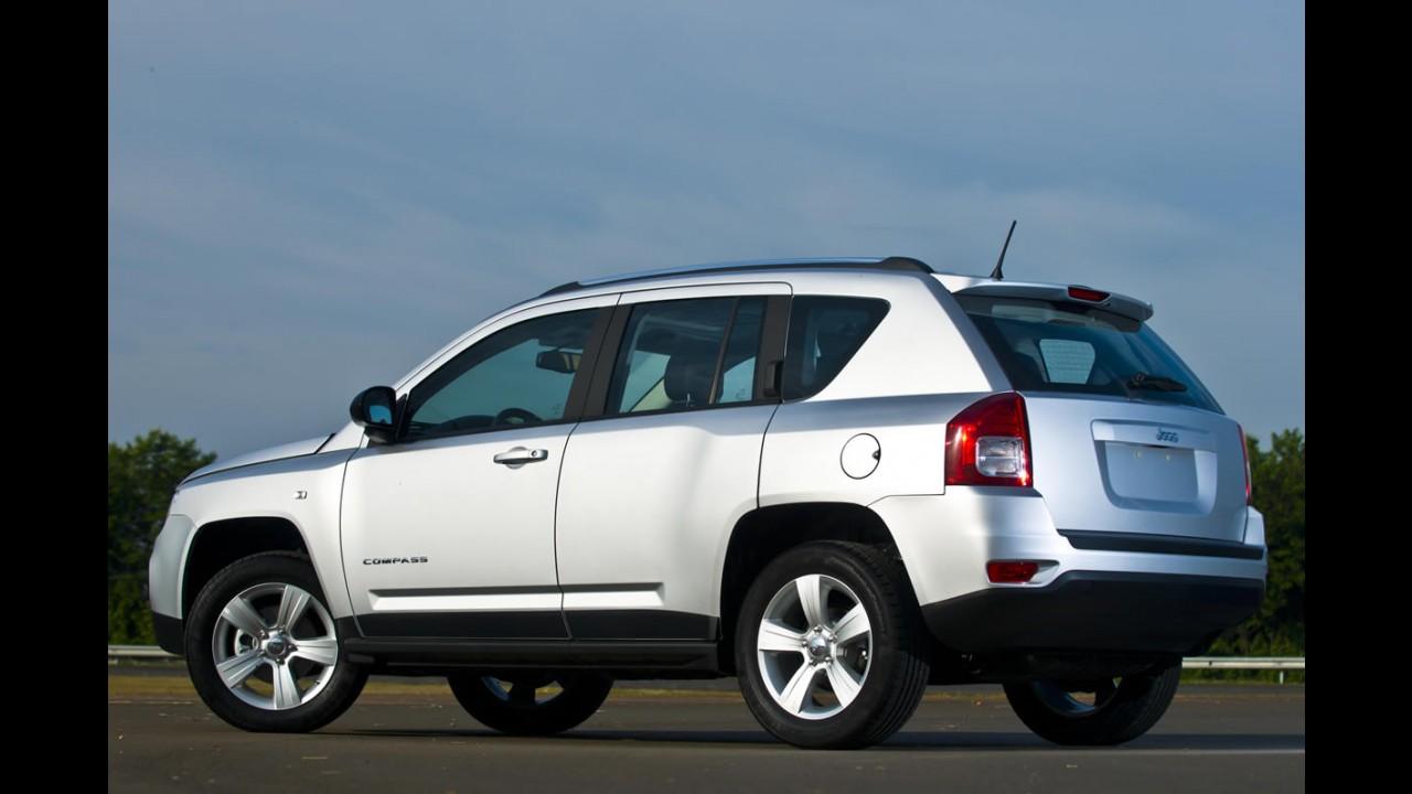 Jeep chama Compass no Brasil para corrigir falha no airbag
