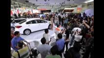 Gatas do Salão do Automóvel: Kia leva aviões para mostrar as novidades -