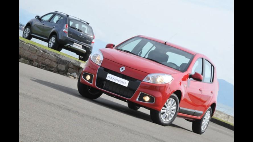 Novo Sandero automático já está disponível no site da Renault