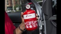 Já está em vigor o uso obrigatório de extintor do tipo ABC em todos os veículos