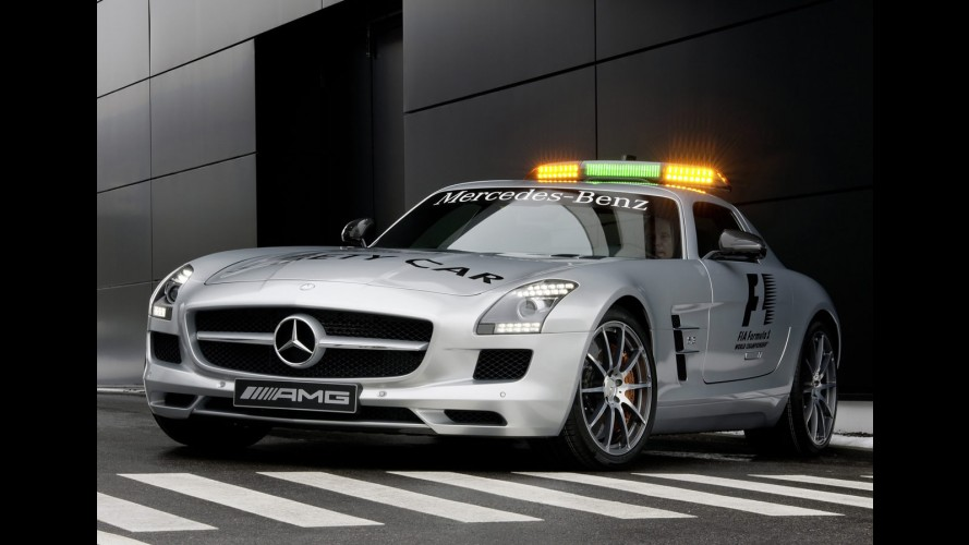 Mercedes-Benz SLS AMG Gullwing é o novo safety car da Fórmula 1 - Veja fotos