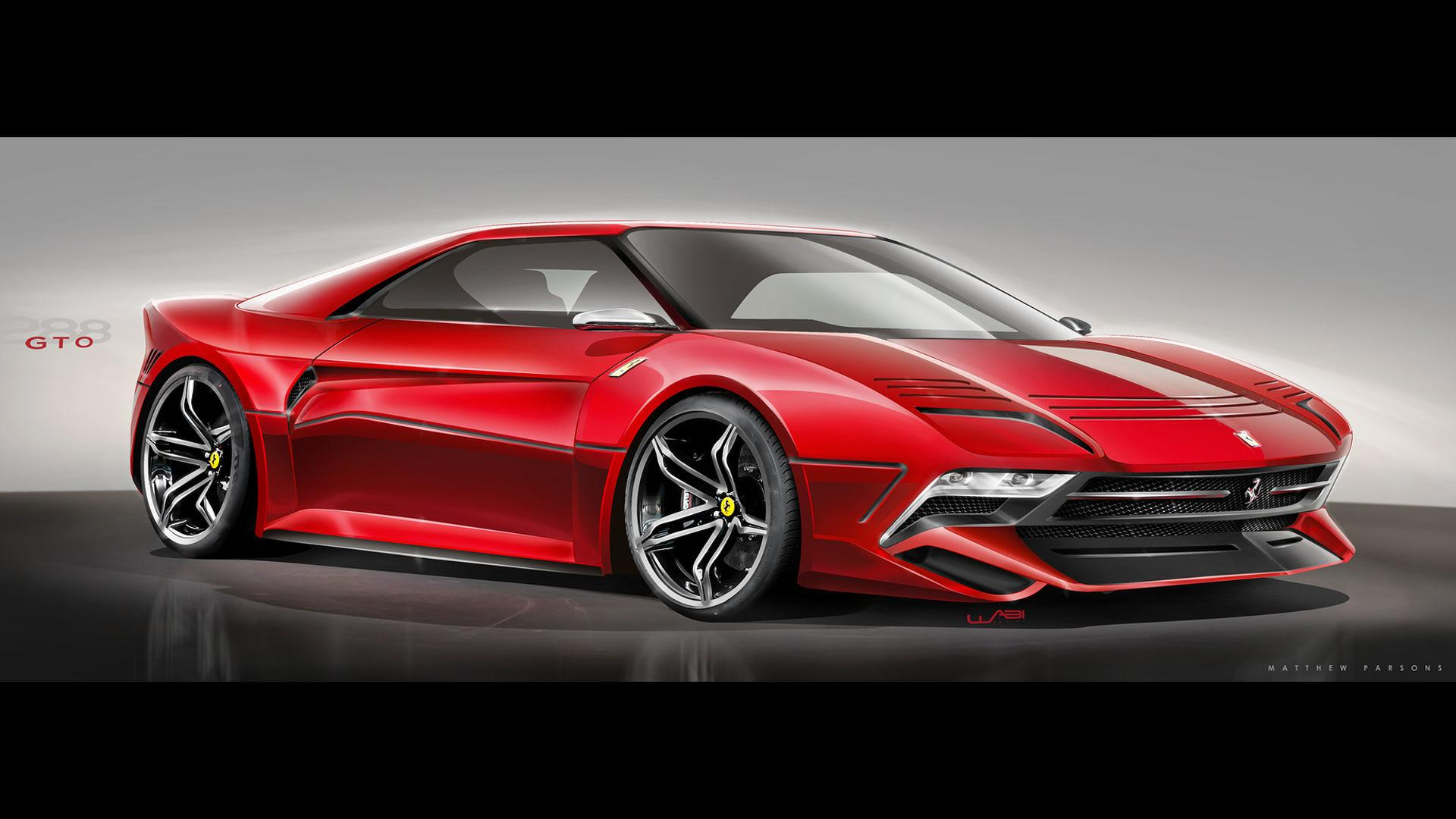 Would You Like The Ferrari 288 Gto To Come Back As This