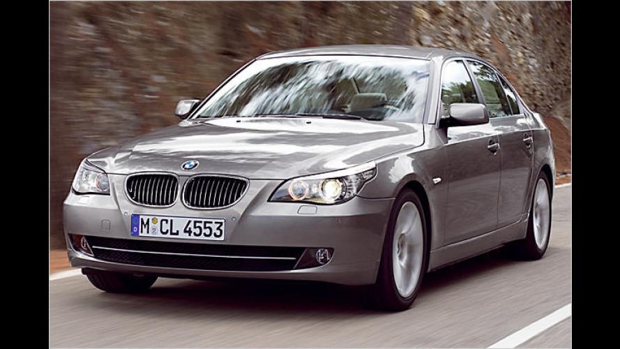 Facelift: BMW 5er im neuen Gewand und mit neuer Technik