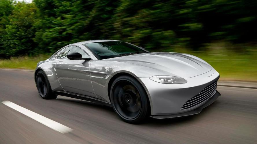 2019 Aston Martin V8 Vantage teaser