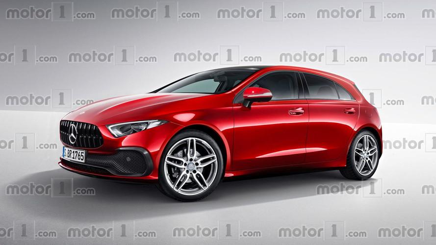 Yeni Mercedes A-Serisi'ne konsept izleri taşıyan yorum