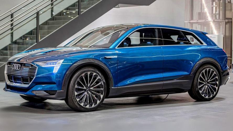 Audi, ilk elektrikli SUV'sinde