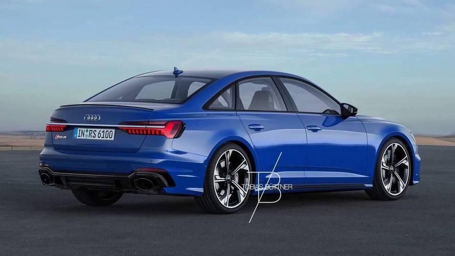 Audi RS6 Sedan render