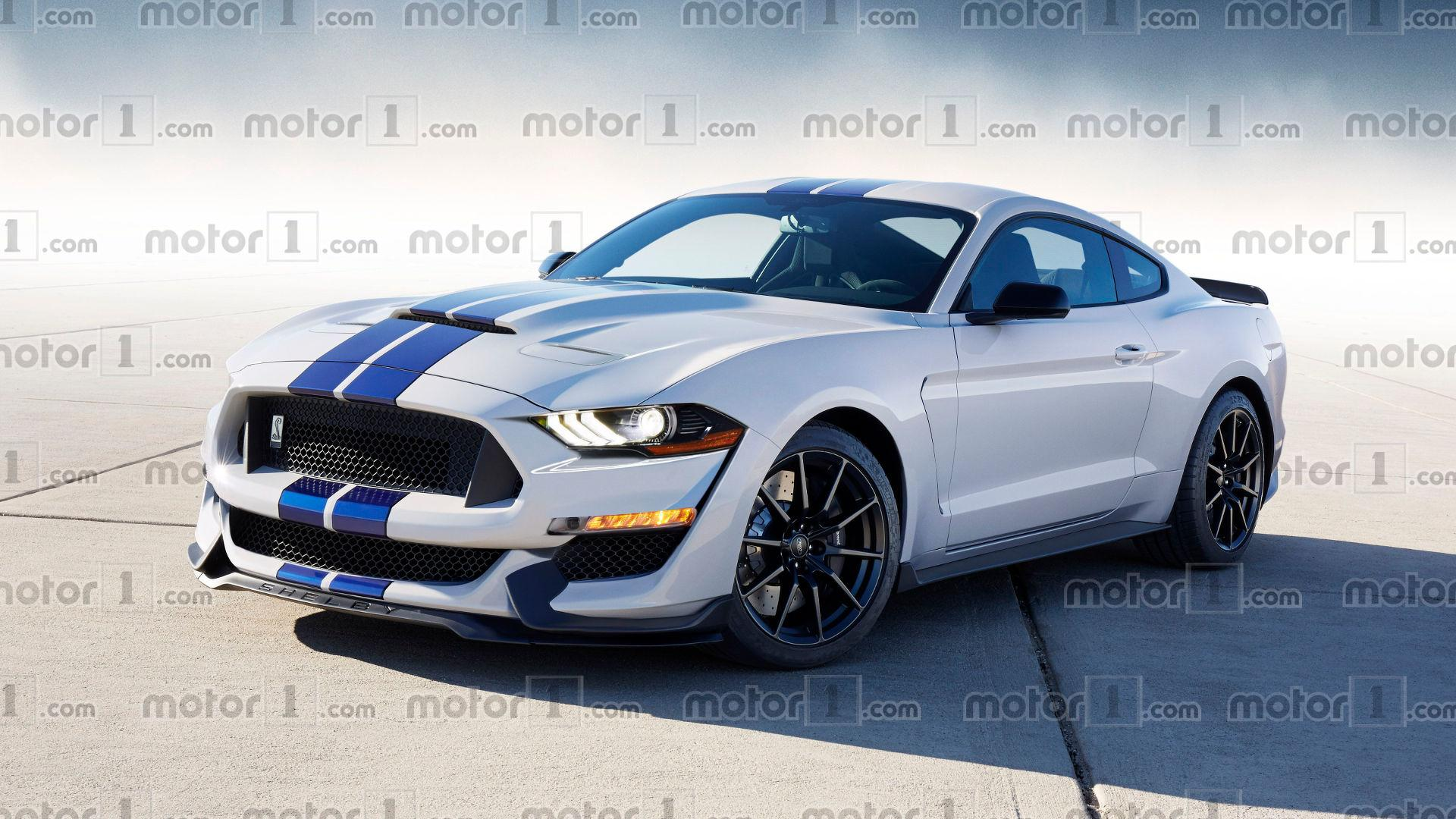 2019 Ford Mustang Shelby Gt500 Looks Aggressive In New