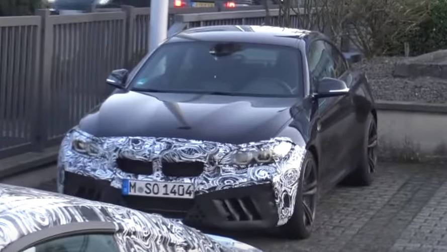 Hotter BMW M2 Spied Up Close